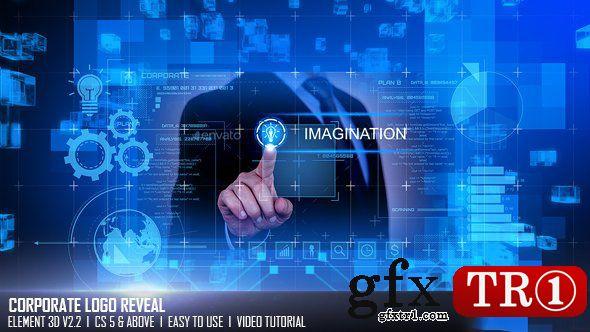 AE模板 高新科技元素企业公司宣传图文幻灯片开场展示 17217764