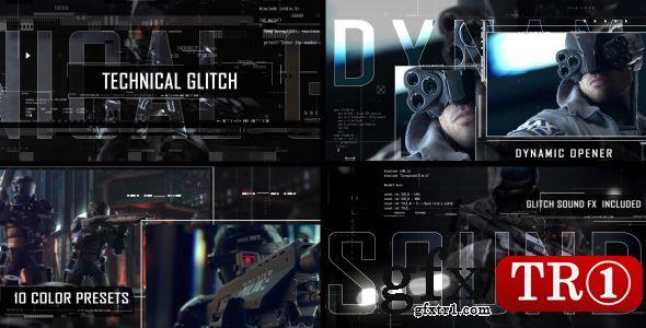 AE模板 未来科技科幻代码变形史诗电影预告宣传sci-fi图文幻灯片介绍16323754