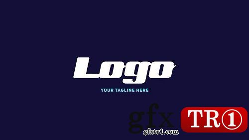 AE模板 数字科技logo标志演