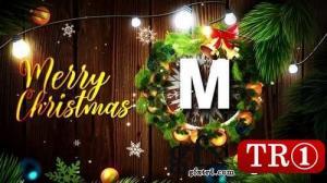 CG天下 AE模板 圣诞节快乐logo标志演绎 Merry Christmas Logo  148875