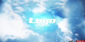 天空徽标显示 PR模板 sky logo reveal 236928