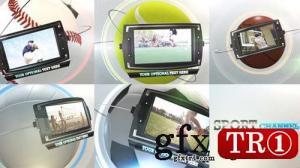 AE模板 体育频道电视栏目广播包三维空间展示  14202271