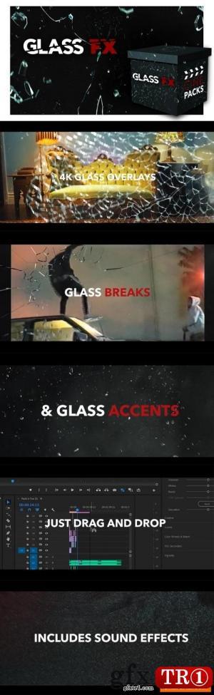 30款玻璃FX特效视频含音效 GLASS FX - CINEPACKS