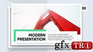 AE模板 现代时尚简洁企业公司宣传图文幻灯片开场 21453674
