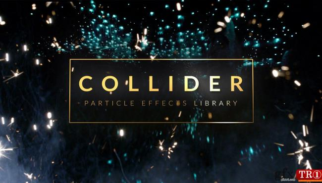 AE模板下载 4K150+奢华金色粒子烟花特效包 RocketStock - RS3040 - Collider: 150+ Particle Effects for Film and Video P