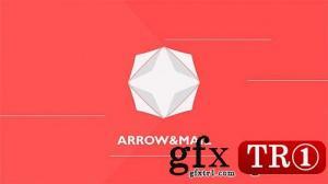 CG天下 AE模板 简洁扁平化小logo9695020