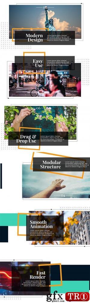 AE模板 现代时尚企业公司图文幻灯片演示包 20969345