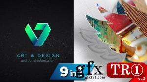 图纸3D Logo Reveal V3-24094750