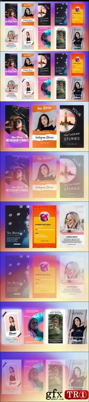 微商小视屏抖音宣传促销 Instagram Stories Pack 21 272291