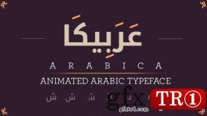 AE模板 阿拉伯字幕标题动画 10062361