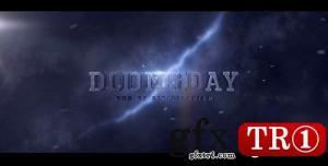 CG天下 AE模板 世界末日三维电影预告宣传字幕标题 20728676