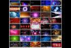 50款唯美温馨背景 led大屏幕素材 HD高清婚礼舞台背景 视频素材