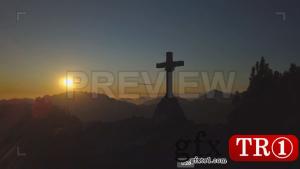 山顶十字架863069