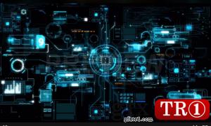 Complex Futuristic Digital Device  966911