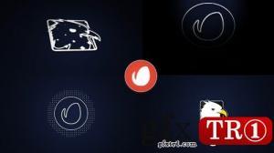 CG天下 AE模板 神秘低音logo标志演绎 10688093
