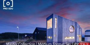 Pro Edu - Master Collection Medium Format Sky Library 8K