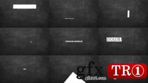 CG天下 AE模板   顽皮卡通快乐的字幕标题   077573716