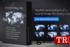 世界地图促销展示包 World-Map Presentation 23895927