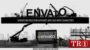 AE模板 吊桥构建字母建筑logo标志演绎  10105969