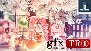 CG天下 AE模板 圣诞节晚会图文幻灯片展示20976699