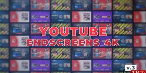 YouTube EndScreens 4K V.3 725398