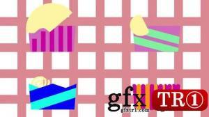 CG天下 AE模板   纸杯蛋糕mg动画演示 074579037
