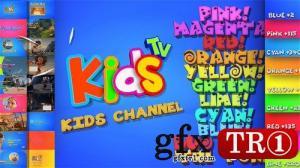 AE模板 儿童生活家庭少儿频道电视栏目包装 20904879