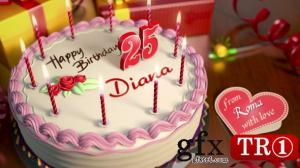 AE模板 生日快乐蛋糕自定义岁数 8751464