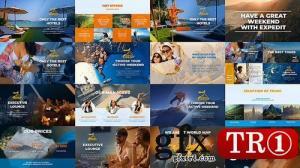CG天下 AE模板   旅行社宣传世界各地探险图文幻灯片介绍 22218739