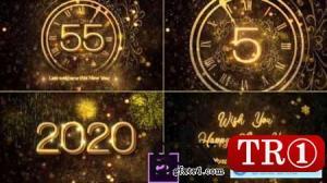2020年新年倒计时 PR模板25267703