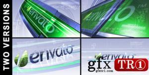 CG天下 AE模板 高科技3Dlogo标志演绎  406855
