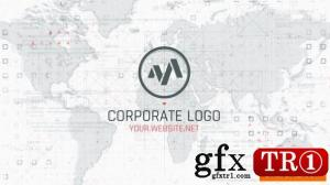 公司地图徽标logo演绎25517368