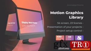 动画屏幕网站样机促销-iMac Pro样机网络演示25507976