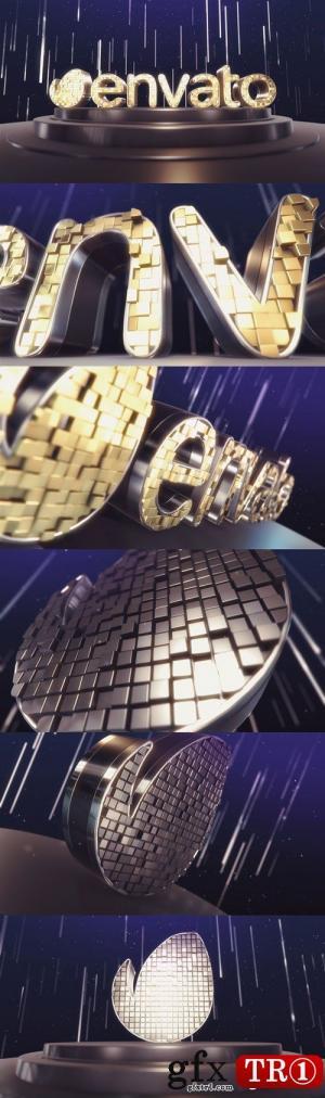 AE模板 3D优雅三维空间字幕标题logo标志演绎E3Dv2源文件  11801761