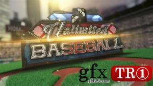 AE模板 震撼大气终极棒球体育运动竞技三维场景开场片头  11365393