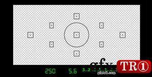 CG天下 数码相机取景框视频素材 3352444
