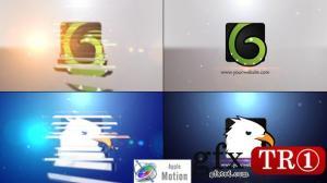 CG天下 Apple Motion5模板小型旋转logo标志演绎 V2  22605859