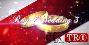 CG天下 AE模板  皇家婚礼相册图文幻灯片 Royal Wedding v3 311368