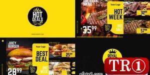 皇家优惠-美食菜单促销30083026