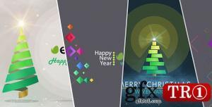 CG天下 AE模板  圣诞树符号包mg动画 14114647