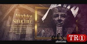 AE模板 历史电影之旅历程大事记图文幻灯片 21458544