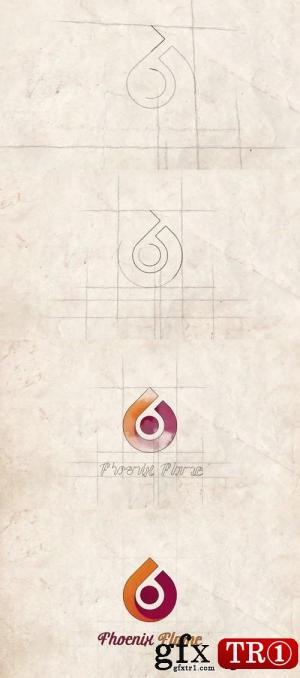 CG天下 AE模板 素描描边logo标志演绎 Sketch Logo Reveal  11547543