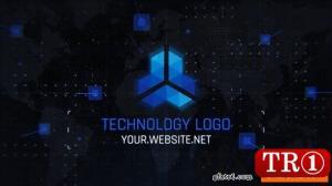 高科技技术徽标25544564