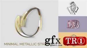 AE模板 金属质感logo标志演绎 20766995