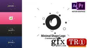 简洁矢量logo标志演绎Minimal Shape Logo 22805328