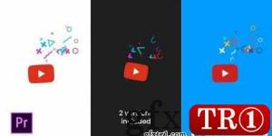 Quick Youtube Logo For Premiere Pro 26780698