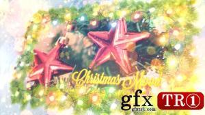 CG天下 AE模板  明亮圣诞节元素庆祝图文幻灯片 19187026