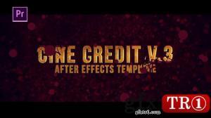 电影预告宣传字幕标题Cine Credit V.3 24373350