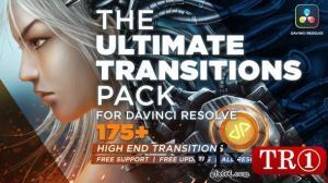 The Ultimate Transitions Pack - DaVinci Resolve 33870760 - DaVinci Resolve 模板