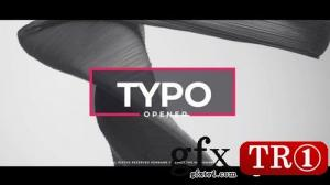 时尚现代字幕图文幻灯片Opener Typo 271730